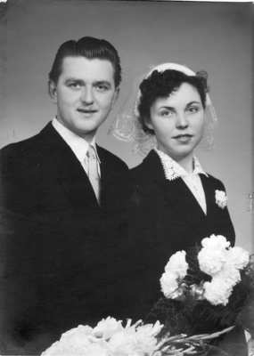 Denise De Wilde x Edwin Turzynski - Août 1954