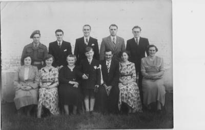 Famille De Wilde vers 1950