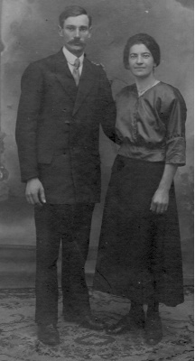 Marie Canipel & Désiré Willai, mes grands-parents maternels