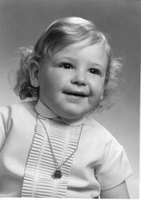 Alain De Wilde à 2 ans