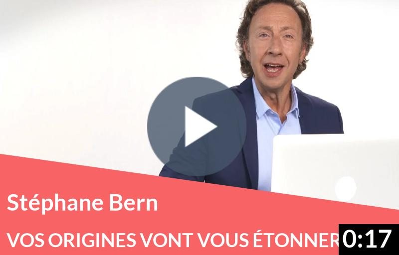 Vos origines vont vous étonner avec Stéphane Bern