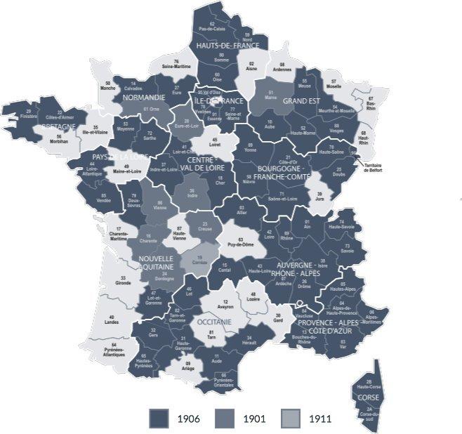 Recensements en France