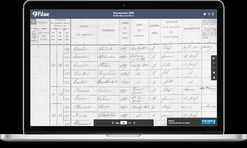 Aisne : le recensement de 1906 est indexé