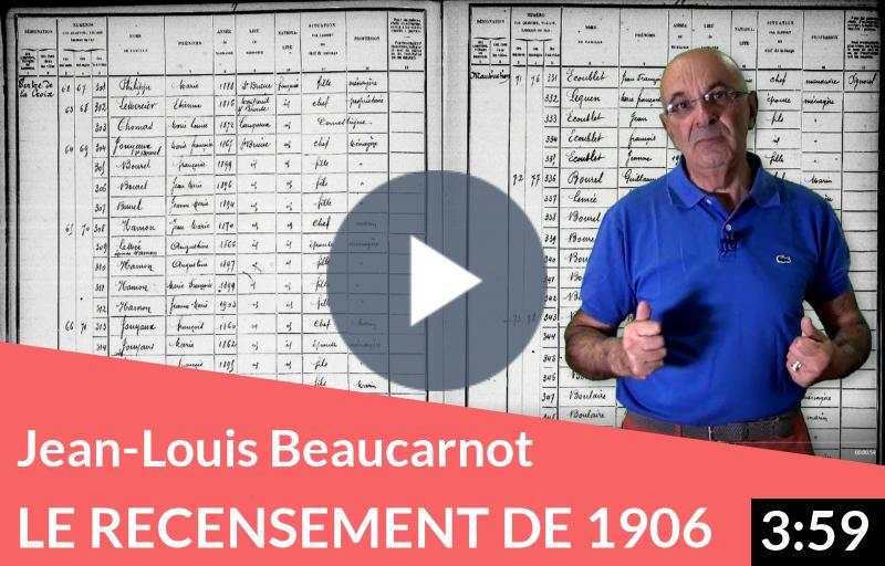 Jean-Louis Beaucarnot «Le recensement de 1906 sur Filae, c'est génial»
