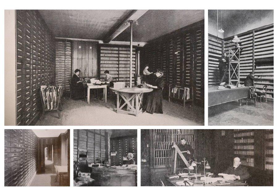 Collecte des archives au cabinet de généalogie Andriveau