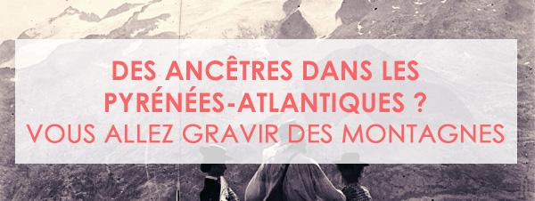 Des ancêtres dans les Pyrénées-Atlantiques