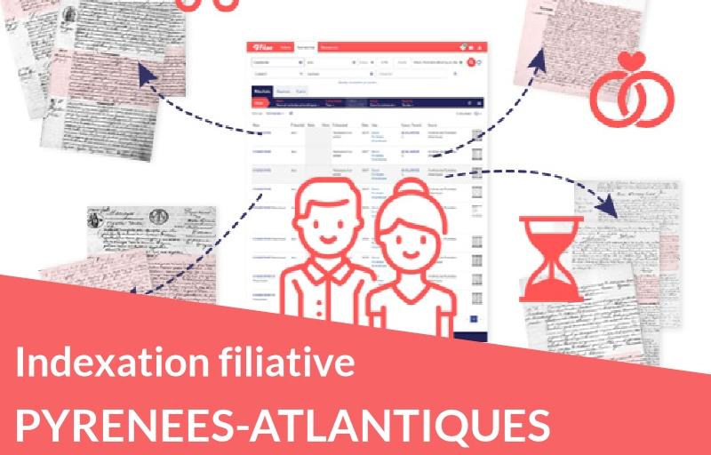 Indexation filiative des Pyrénées-Atlantiques