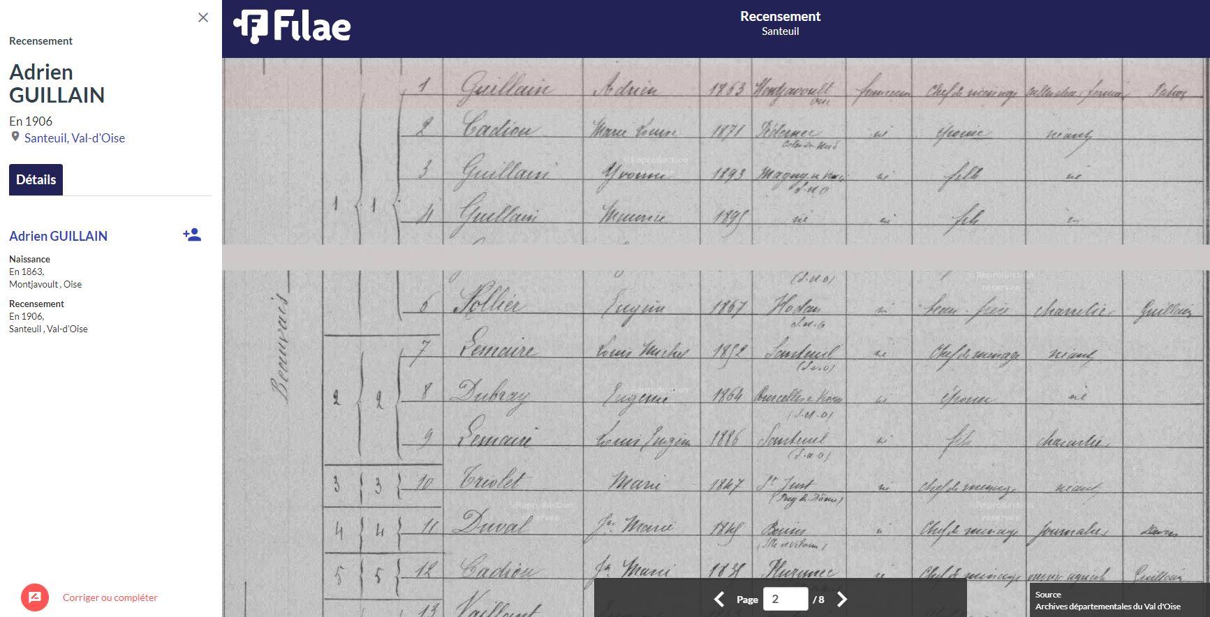 recensement de 1906