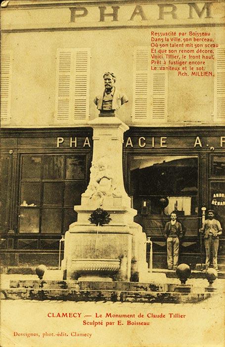 Monument de Claude Tillier à Clamecy