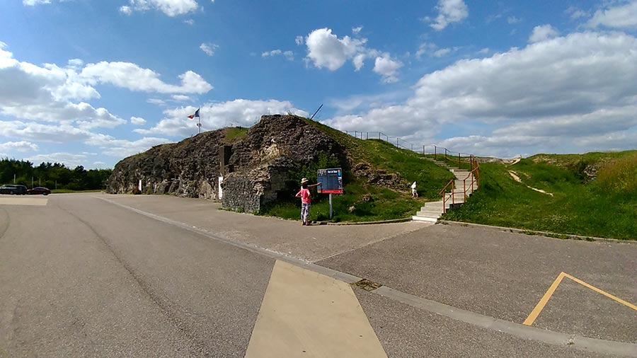 Fort de Vaux en 2018