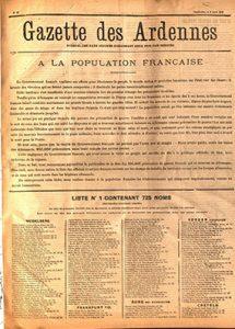 La gazette des Ardennes