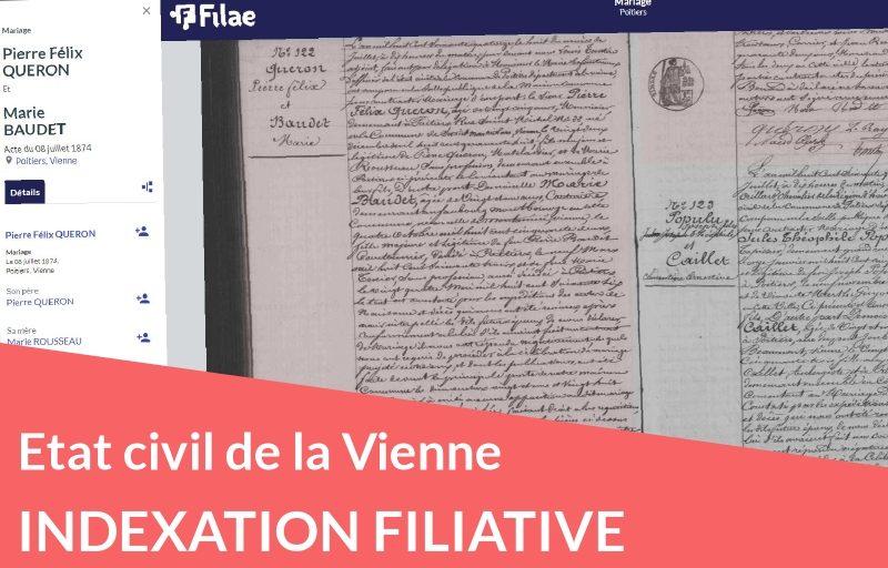 Nouveau : indexation filiative de la Vienne