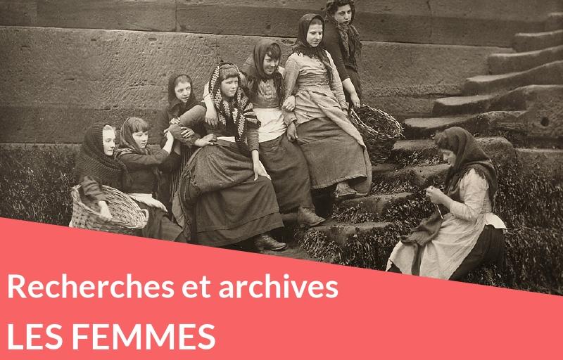 Les femmes dans votre généalogie : recherches et archives