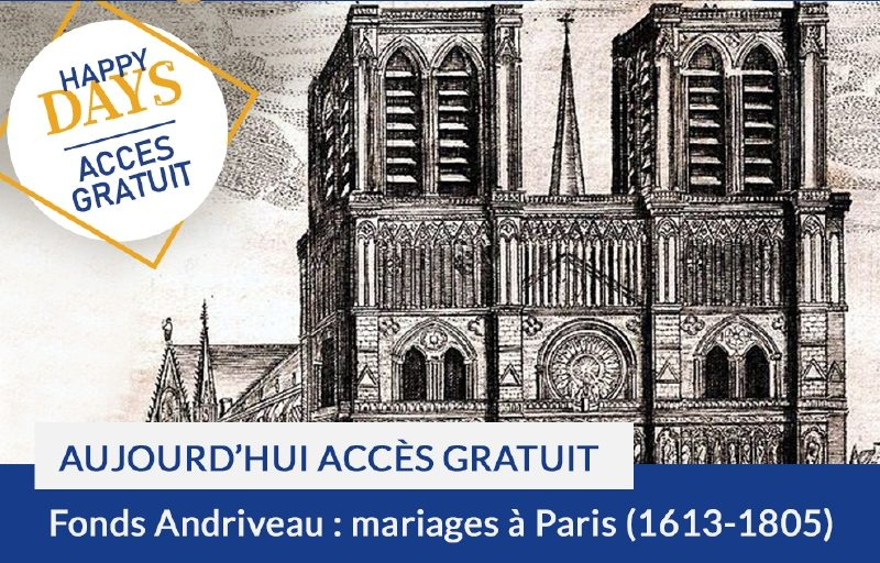 Happy Days : accès gratuit aujourd'hui au fonds Andriveau