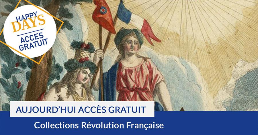 consultez gratuitement les collections de la Révolution