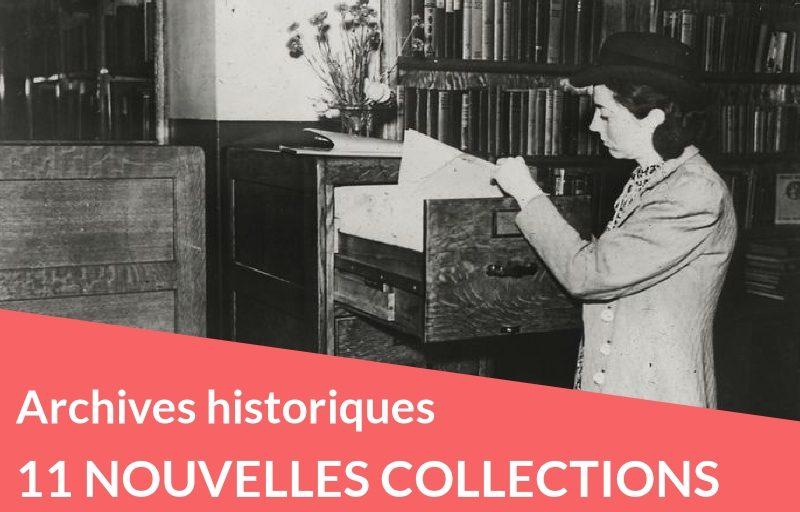 11 nouvelles collections historiques à découvrir sans tarder !