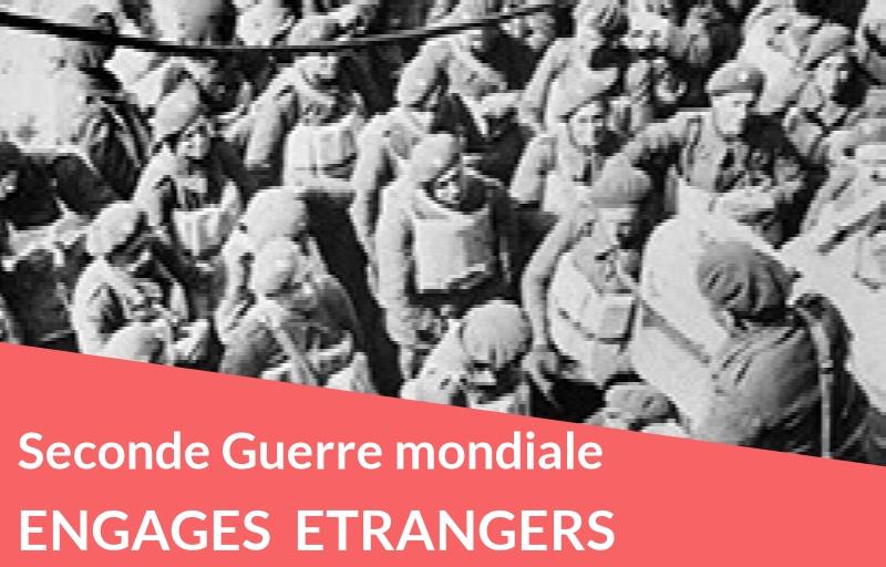 Nouveau : Engagés volontaires étrangers en 1939-1940