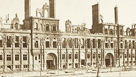 Mairie de Paris après l'incendie