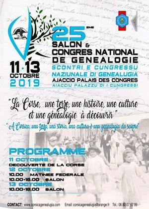 congrès de généalogie en Corse