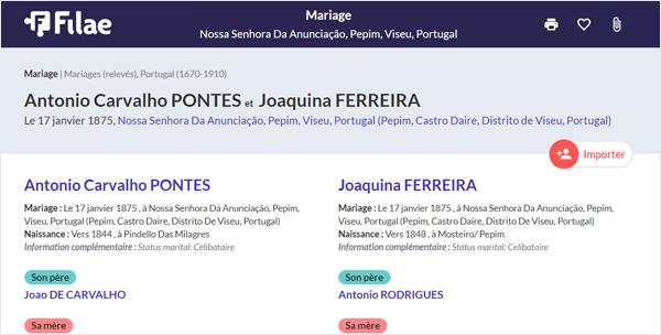 acte du Portugal