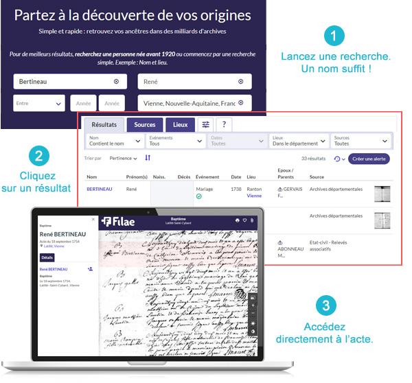 consultation des indexations d'archives
