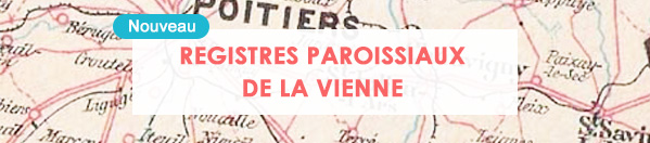 registres paroissiaux de la Vienne
