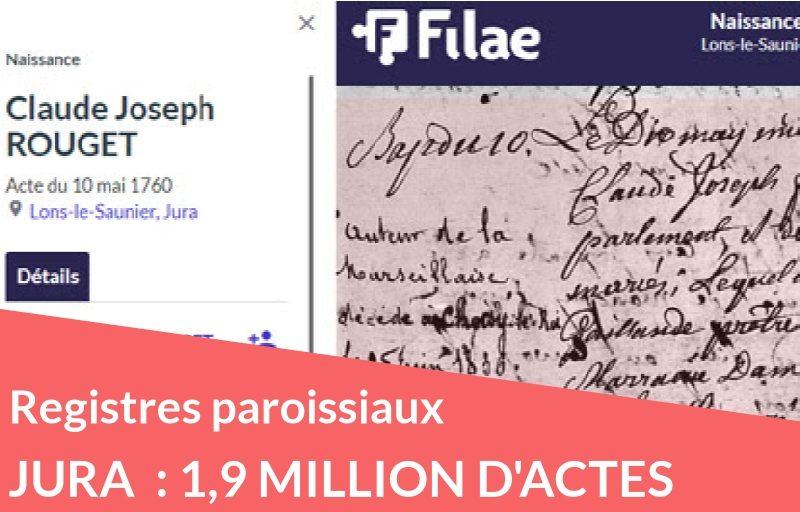 Nouveau : registres paroissiaux du Jura