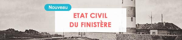 état civil du Finistère