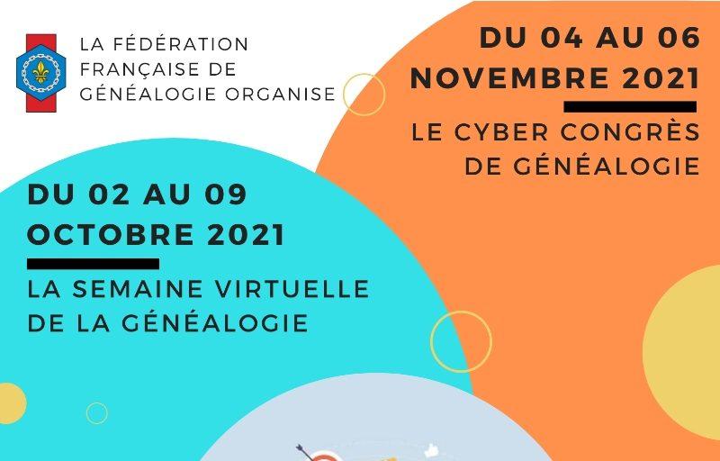 Filae participe à la semaine virtuelle de la généalogie